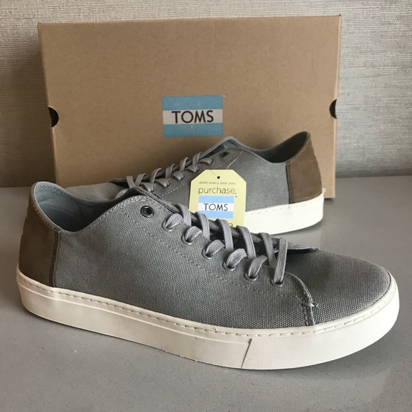 Washed Nwt Canvas Toms New Men's Lenox Sneakers gf76yYbv